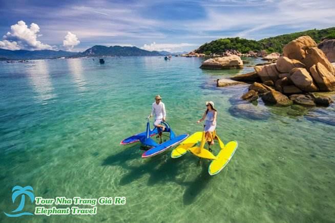 vui chơi tại resort sao biển - tour bình hưng hang rái 1 ngày